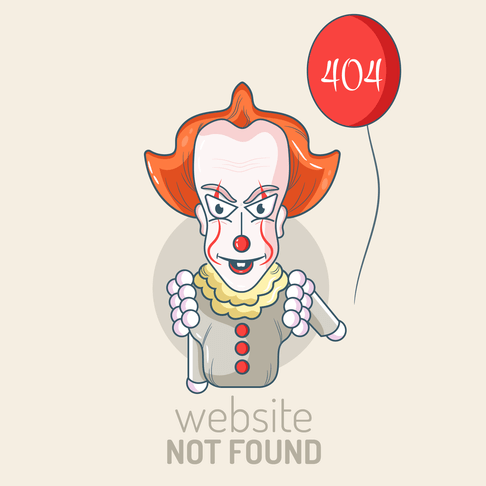 free 404 not found illustration