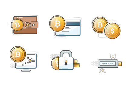 bitcoin icons SVG 2.0 new