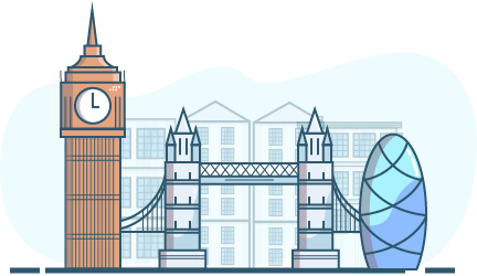 free london illustration