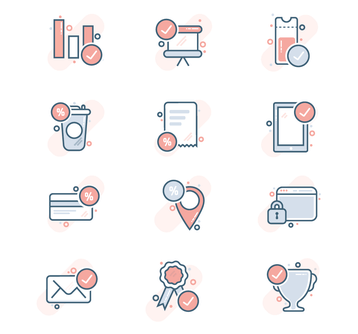 Royalty Free e-commerce Icons